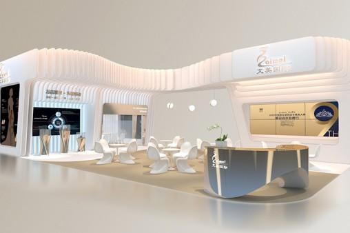 艾美国际展台设计案例